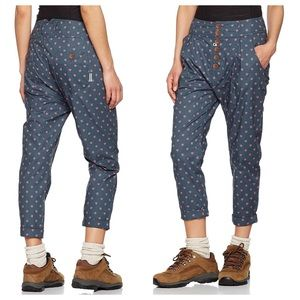 Maloja Alpendistel Waterfall Raspberry Print Pants